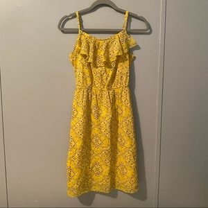 OLD NAVY Yellow Bandana Cami Tank Dress Small